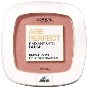L'Oreal Paris Age Perfect Radiant Satin Blush with Camellia Oil, Rosewood