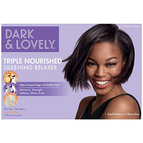 SoftSheen-Carson Dark and Lovely Healthy-Gloss 5 Shea Moisture No-Lye Relaxer - Super (Packaging may vary)
