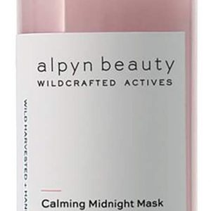 Alpyn Beauty - Natural Calming Midnight Mask With Melatonin & Wild Dandelion   Clean, Wildcrafted Luxury Skin Care