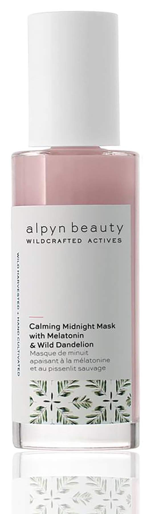 Alpyn Beauty - Natural Calming Midnight Mask With Melatonin & Wild Dandelion | Clean, Wildcrafted Luxury Skin Care