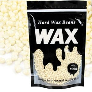 Hard Wax Beans for Painless Hair Removal, No Strip Depilatory Hot Film Hard Wax Pellet Waxing Bikini Hair Removal (11.5 x 18cm, D)