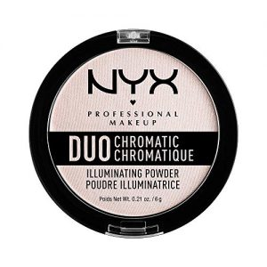 NYX PROFESSIONAL MAKEUP Duo Chromatic Illuminating Powder, Snow Rose