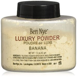Ben Nye Luxury Powder Face Makeup, Banana, 1.5 oz.