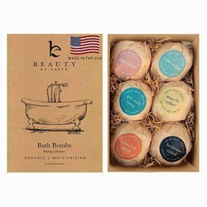 Bath Bombs Gift Set - 6 Large Natural & Organic, Birthday Gifts for Women, Bath Bomb Gifts for Her, Bath Bombs for Kids, Bath Bombs for Women With Shea Butter, Bath Salts and Essential Oil Scented