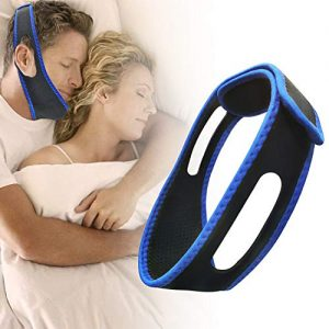 Chin Strap for CPAP Users CPAP Chin Straps for Men Anti Snoring Chin Strap for Snoring Solution, Effective Anti Snoring Devices, Mute Silent Aid Snore Stopper, Average Size for Men and Women