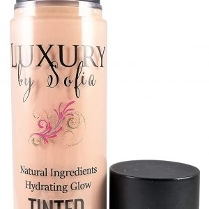 Luxury By Sofia Tinted Moisturizer   Organic & Natural Ingredients   Moisturizes, Brightens, Smooths & Plumps Skin   Deep Skin Hydration With Certified, Skin-Friendly & Safe Properties (Ivory)