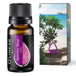 Sleep Essential Oil Blend - 100% Pure Therapeutic Grade Good Sleep Blend Oil - 10ml - Perfect for Aromatherapy, Supports Deep Sleep, Made in EU under strict control!
