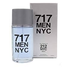 717 MEN NYC,3.4 fl.oz. Eau de Parfum Spray for Men, Perfect Gift with a NovoGlow Pouch Included