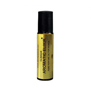 Premium Perfume Oil IMPRESSION with SIMILAR Accords to {AROMATIC_ELIXIR}_{WOMEN}-; Long Lasting 100% Pure No Alcohol Oil - Perfume Oil VERSION/TYPE; Not Original Brand (10ML ROLLER BOTTLE)
