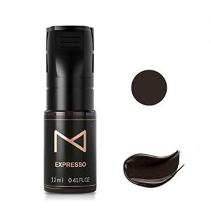 Mellie Microblading M Permanent Cosmetic Pigment For Eyebrows/Brows Machine Use – Permanent Make Up Tattoo Ink PMU Supplies - Medical Grade - No Mixing - For Professionals Only - 12ml (Espresso)
