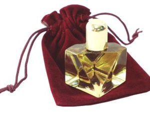 Diamond Bottle w/Pouch - White Opium
