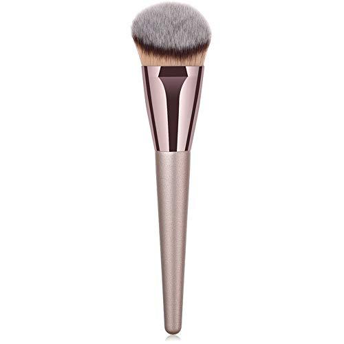 Professional Angled Makeup Brush Foundation Brush Premium Synthetic Kabuki Bronzer Contour Brush Cosmetic Applicator for Blending Liquid Powder BB Cream Vegan Brochas de Maquillaje