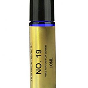 Perfume Studio Body Oil IMPRESSION of Channel for Women; A Pure Alcohol Free Perfume Oil (GENERIC VERSION), 10ml Blue Glass Roll On Bottle. (No. 19)