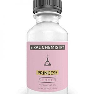 Pheromones For Women (Princess) - Elegant, Ultra Strength Organic Fragrance Body Perfume Oil (.5 Fl. Oz)