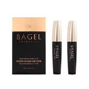 BAGEL Korean Premium Eyelash Growth Serum Tonic 8ml + Essence 10ml Set