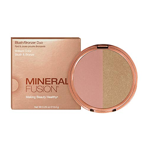 Mineral Fusion Blush/Bronzer Duo, Blonzer, 0.29 oz (Packaging May Vary)