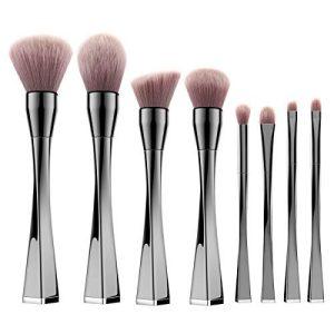 Makeup Brushes Set, Luxspire 8PCS Professional Make Up Brushes, Premium Fiber Cosmetic Powder Foundation Eyeshadow Lip Blush Bronzer, Contouring Blending Brush Make Up Tool