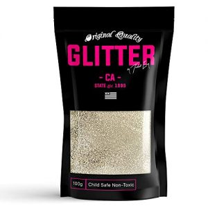 Matt Gold Premium Glitter Multi Purpose Dust Powder 100g / 3.5oz for use with Arts & Crafts Wine Glass Decoration Weddings Cards Flowers Cosmetic Face Body (Packaging May Vary)