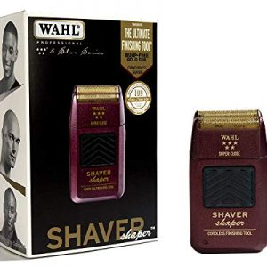 Wahl Professional 5-Star Series Rechargeable Shaver/Shaper #8061-100 - Up to 60 Minutes of Run Time - Bump-Free, Ultra-Close Shave