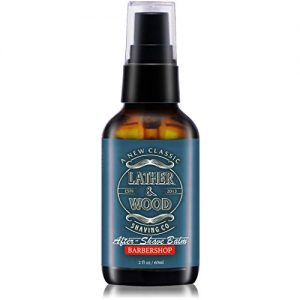 Lather & Wood Aftershave Balm - Barbershop