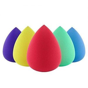Premium Beauty Sponge Makeup Blender (Set of 5) for Powder, Concealer and Foundation Applicator - Makeup Sponges for Cosmetic Blending