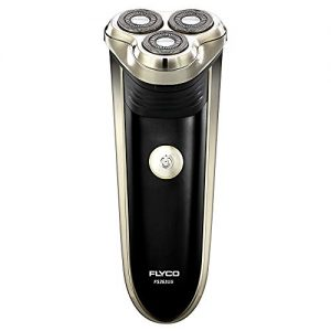 Electric Shaver for Men, Flyco Rotary Electric Men's Razors Rechargeable Close Shaver with Pop-up Trimmer & Waterproof Shaving Heads