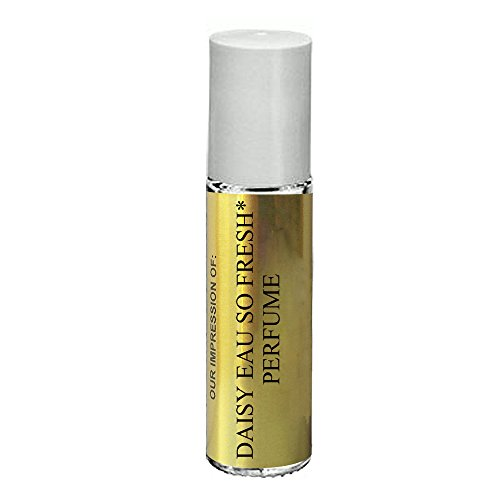 Perfume Studio Oil IMPRESSION of Daisy Eau So Fresh for Women; 10ml Roll On Glass Bottle, 100% Pure Undiluted, No Alcohol Parfum (Premium Quality Fragrance Version)