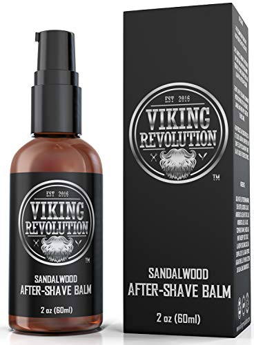 Luxury After-Shave Balm for Mena - Premium After-Shave Lotion - Soothes and Moisturizes Face After Shaving - Eliminates Razor Burn for A Silky Smooth Finish - Sandalwood Scent