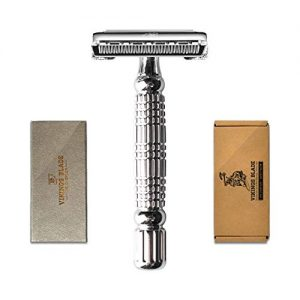 VIKINGS BLADE The Chieftain Double Edge Safety Razor (Neutrally Aggressive)