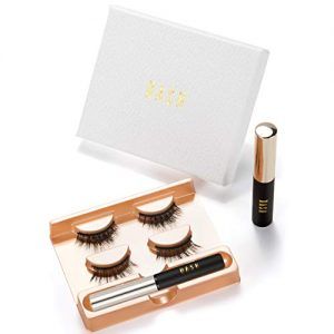 Premium Magnetic Eyelashes with Eyeliner: Magnetic Eyeliner and Lashes Set, Magnetic Lashes Kit Natural Look With 2 Pairs Of Reusable Magnetic False Lashes