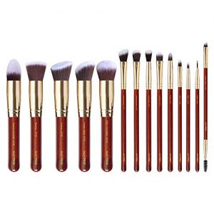 ALUX TREND 14 Pcs Premium Quality Makeup Brush Set, Premium Powder Brush Foundation Brush Blending Concealers blush Eye Shadows eyeliner Make up Brush Kit Premium soft synthetic bristles