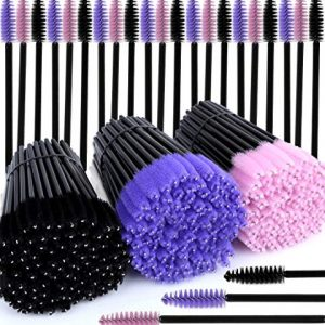 300 Pcs Disposable Mascara Wands, Teenitor Eyelash Brush Mascara Testers Makeup Applicators Kit For Thick Or Thin, Long Or Short Eye Lashes