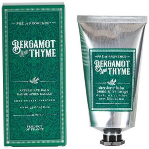 Pre de Provence Shea Butter Enriched Men's After Shave Balm, 2.5 Ounce - Bergamot & Thyme