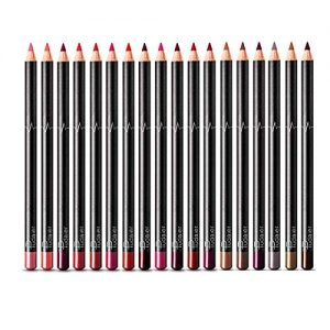 DC-BEAUTIFUL 18 Colors Lip Liners Pencil Set, Premium Waterproof Smooth Lip Pencils, Long Lasting Matte Makeup Lipliners