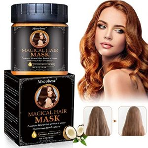 Magical Hair Treatment Mask, Hair Roots Treatment, Hair Mask for Frizzy Hair, 5 Seconds Repairs Damage Hair Root, Deep Conditioner Suitable for Dry & Damaged Hair