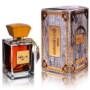 ARABIYAT Khashab & Oud White - Eau De Parfum Amber & Cedarwood Fragrance Perfumes for Men & Women 100ml