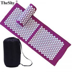 Massage Cushion Yoga Acupressure Mat and Pillow Set Neck