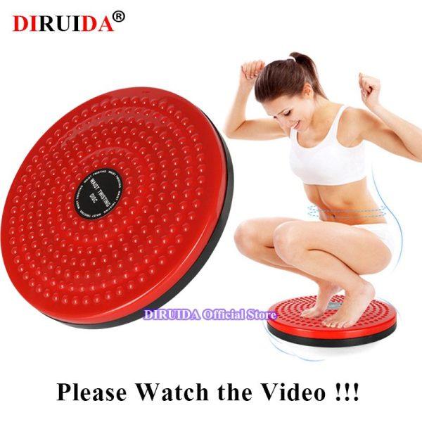Foot Massager Twist Board Fitness Balance Waist Disc Balance