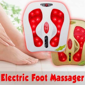 Electric Foot Massager 20W 220V Vibration Infrared Heating Magnetic