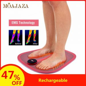 EMS Tens Foot Massager Electric Acupuncture Mat Pain