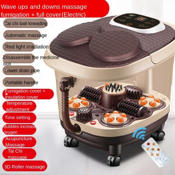 Automatic Feet Basin Foot Massage Bath Electric Heating