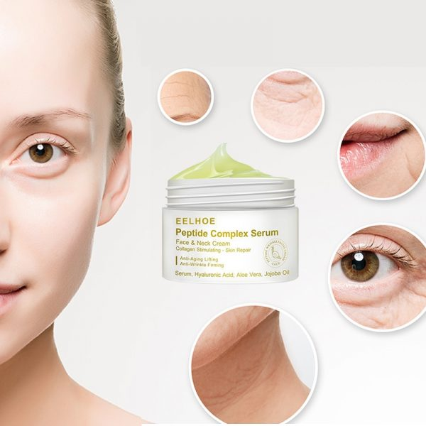Anti Wrinkle Peptide Serum Facial Cream Acne