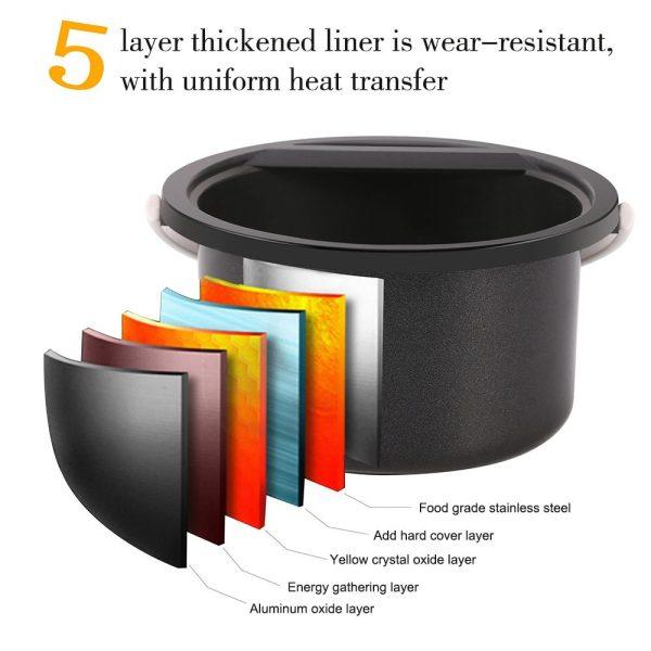 Hair Removal Smart Wax Heater Epilator Kit