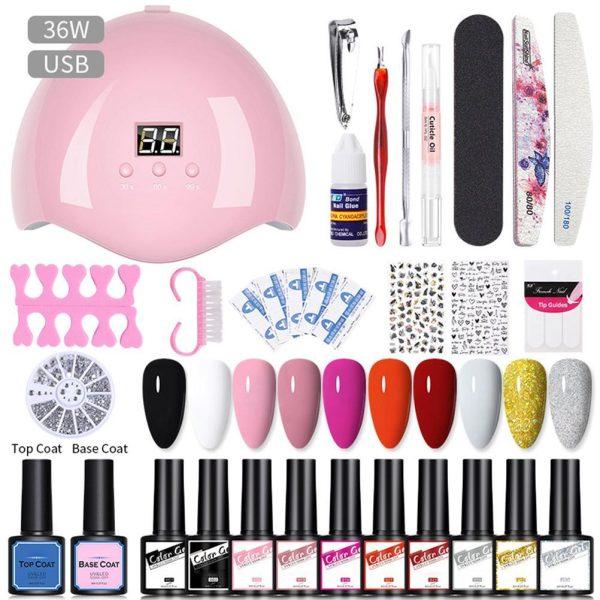 UV Gel Nail Kit Gel Nail Polish Kit