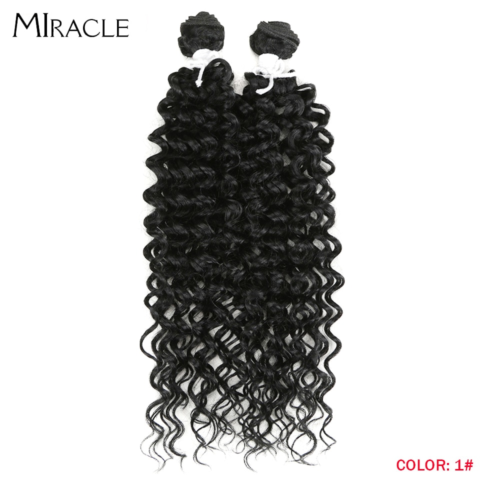 Afro Kinky Curly Hair Wave Synthetic Hair